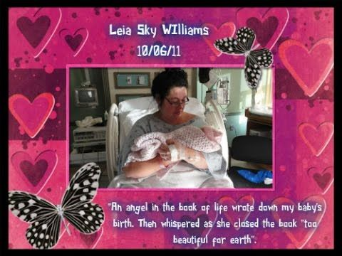 Memorial for Our Angel Baby Leia Sky : Stillborn at 37 weeks + 5 days on...