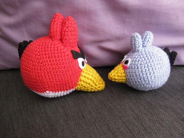 Tutorial Amigurumi Angry Bird : Crochet bird pattern etsy