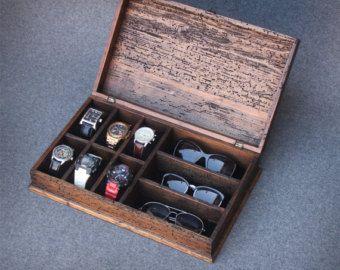 Reloj Caja Reloj Personalizado De Caja Caja Por Ourweddinginvites Wood Watch Box Mens Watch Box Wood Jewelry Diy