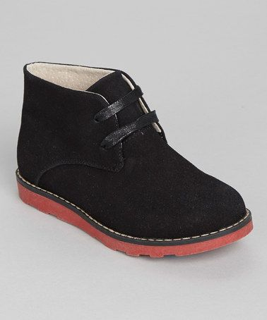Take a look at this Black Suede Chukka Boot by Easy Strider on #zulily today!