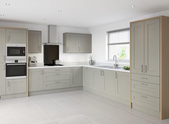 Eaton Warm Grey Kitchens Pinterest Warm Grey Kitchen Gray - Warm gray cabinets