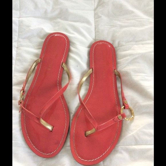 Pink patten leather sandals These are a brighter pink than photo shows Elaine Turner Shoes Sandals