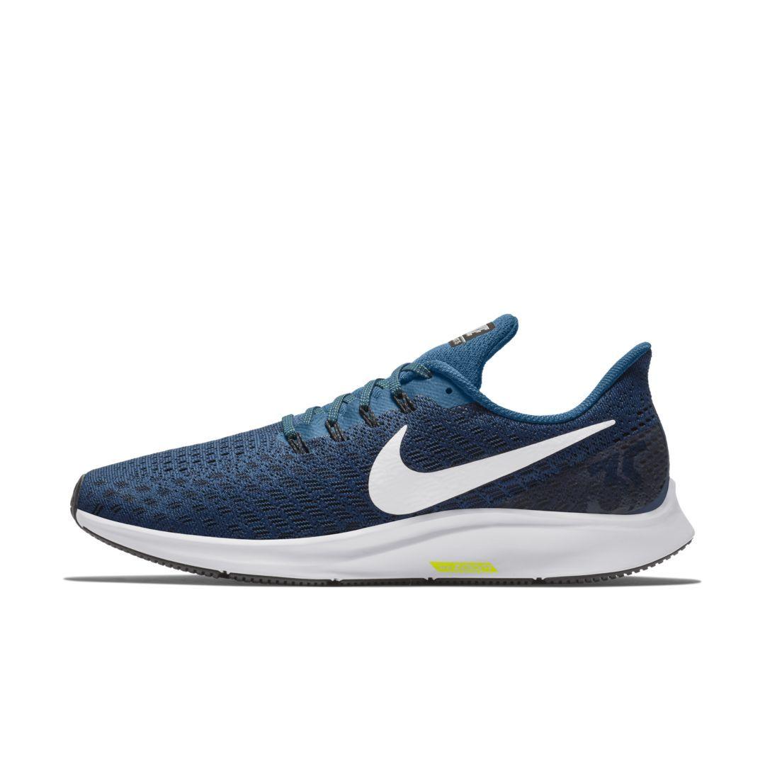 info for 50cd5 8b9c0 Nike Air Zoom Pegasus 35 Men's Running Shoe Size 8.5 (Blue ...