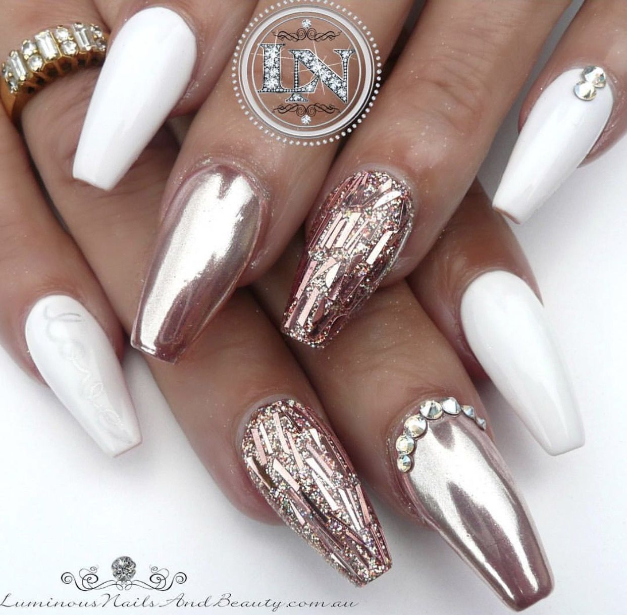 Pin de Yolanda Wells en Fake Nails ♡ (Acrylic/Gel) | Pinterest ...