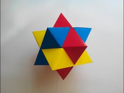 Origami Burr Puzzle (Froy) - YouTube | Origami | 종이 예술