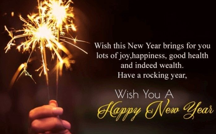 Happy New Year Wishes 2020 - Messages, Quotes, Greetings for Friends & Love