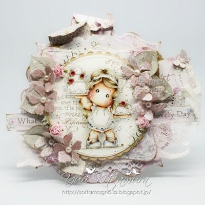 Yuri's Magnolia Blog: Rose Cake Tilda
