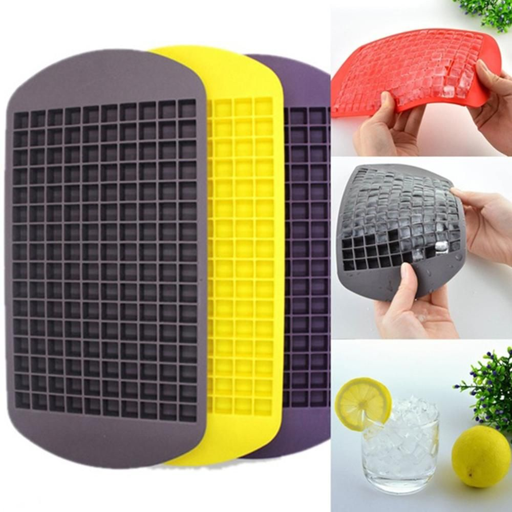 160 Grids DIY Kreative Kleine Eiswürfelform Quadratische Form ...