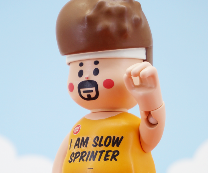 Bobby the Slow Sprinter 5.75-inch PVC Figure by ANATOY
