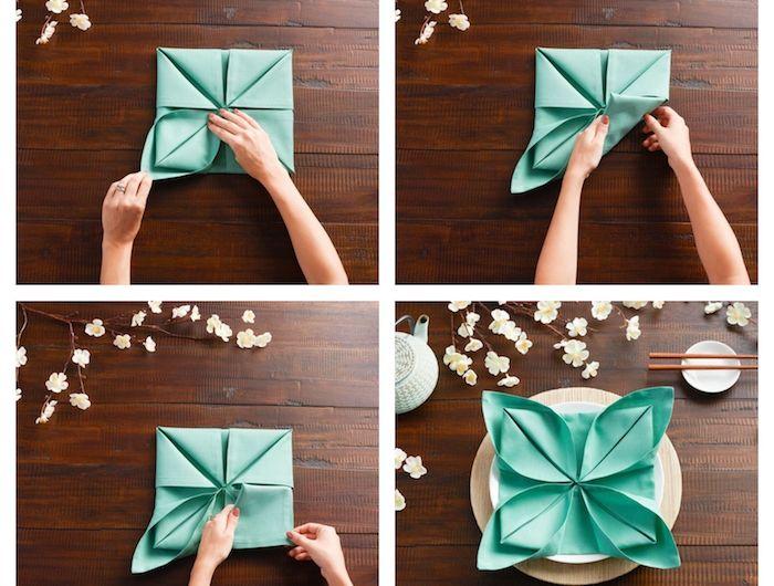 1001 Idées Créatives De Pliage De Serviette Pour
