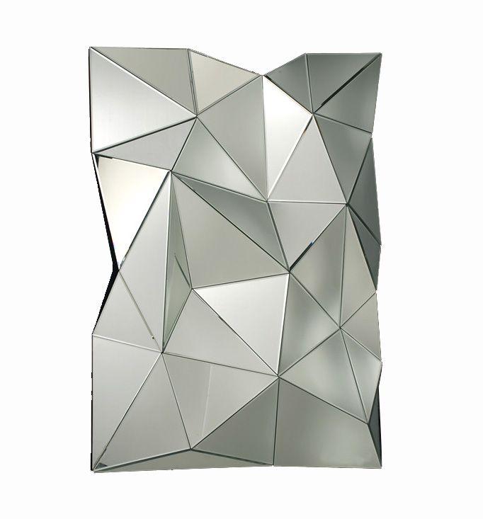 Aqua Faceted Wall Mirror Mirrors Pinterest Walls Unique