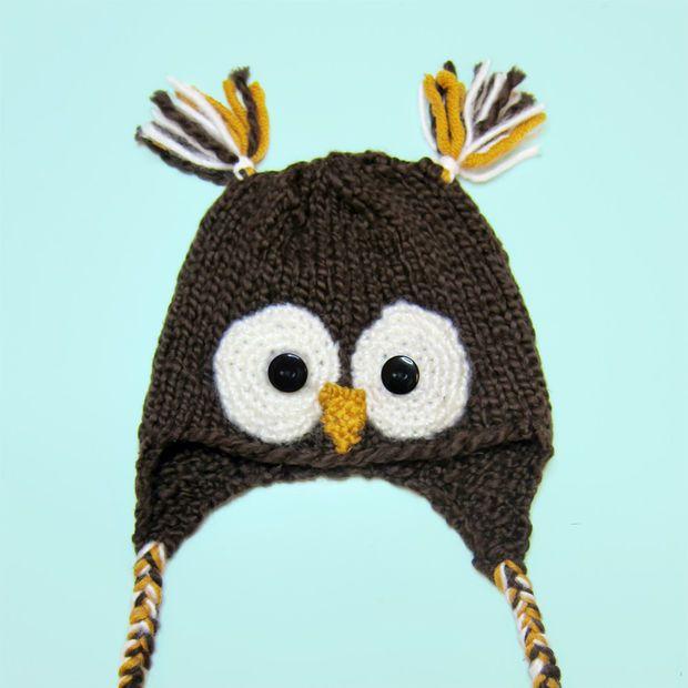 Baby Owl Hat | Crochet | Pinterest