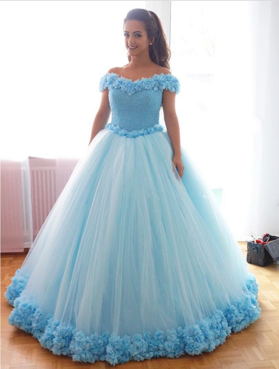 Best Deals On Wedding Dresses | Light blue wedding dress, Blue ...