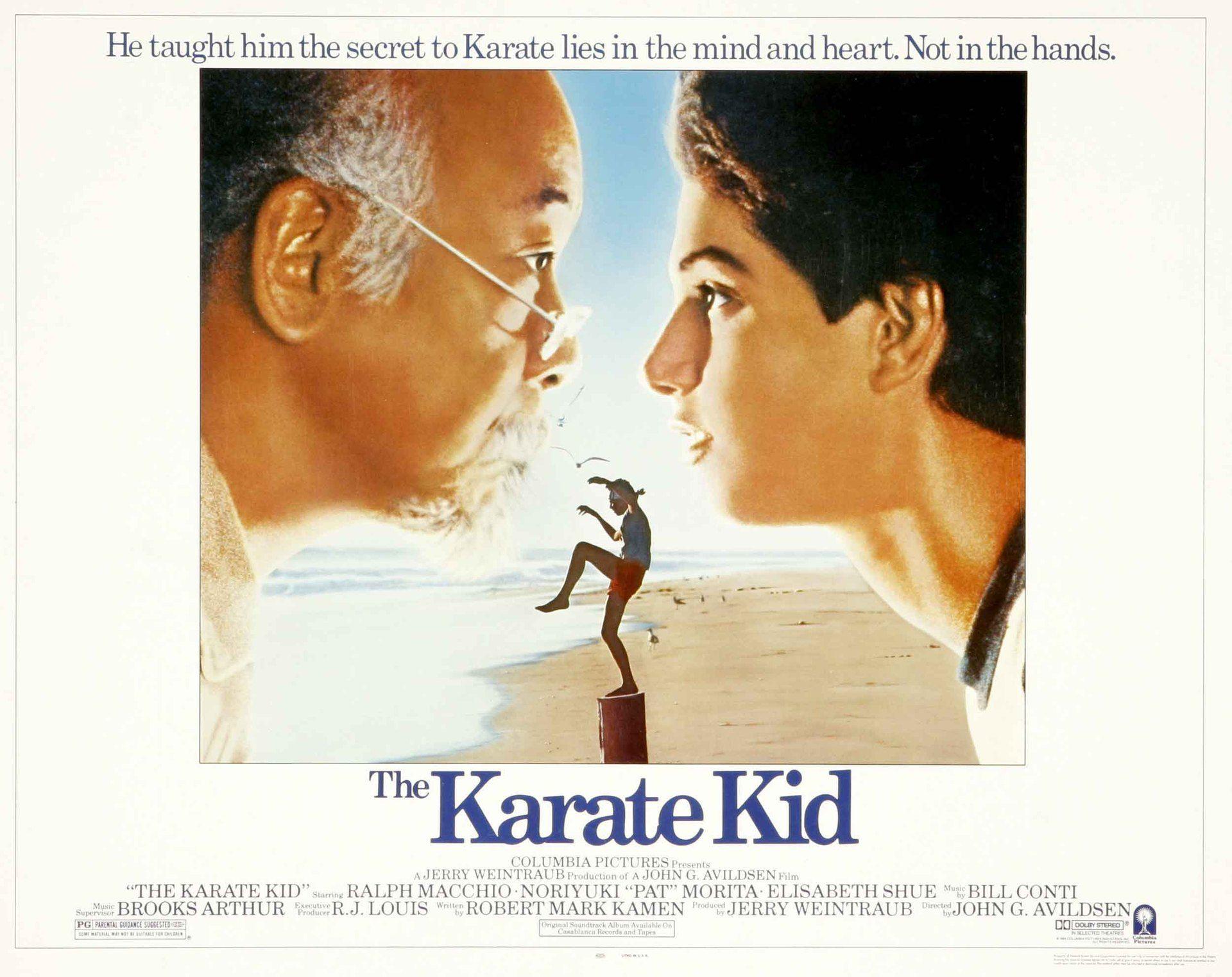 Karate Kid Movie 84 Karate Kid The Karate Kid 1984 Kids Movie Poster