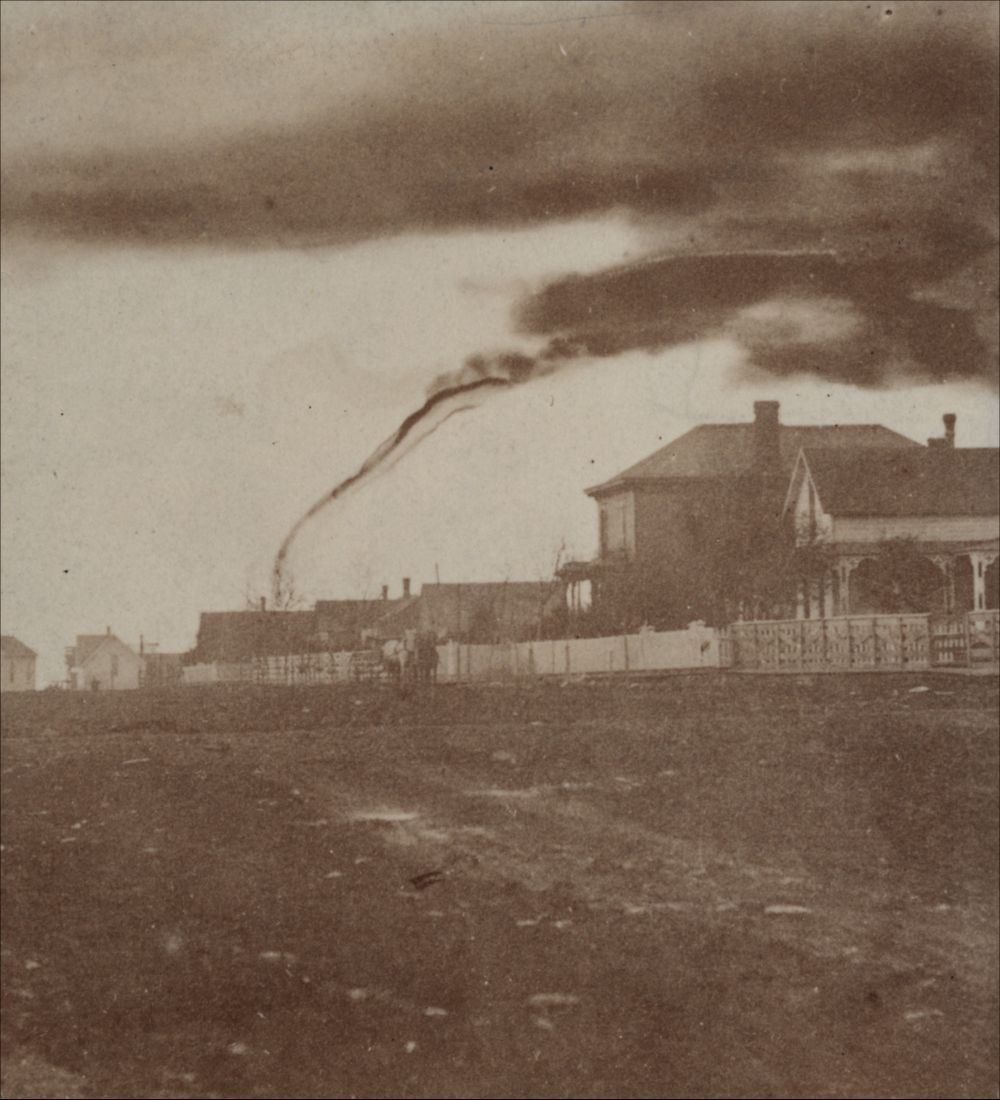 19th Century Storm Chasers Took The First Tornado Photographs