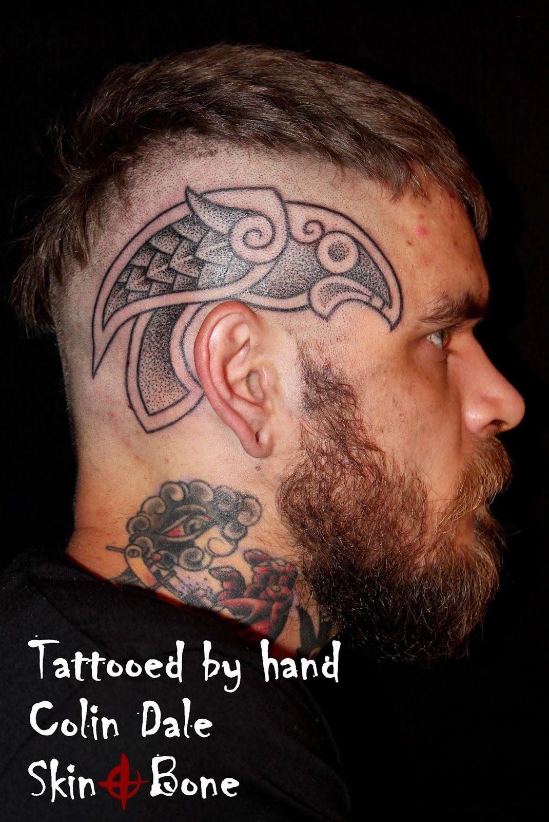 Image Result For Viking Head Tattoo Head Tattoos Tattoos Viking Tribal Tattoos