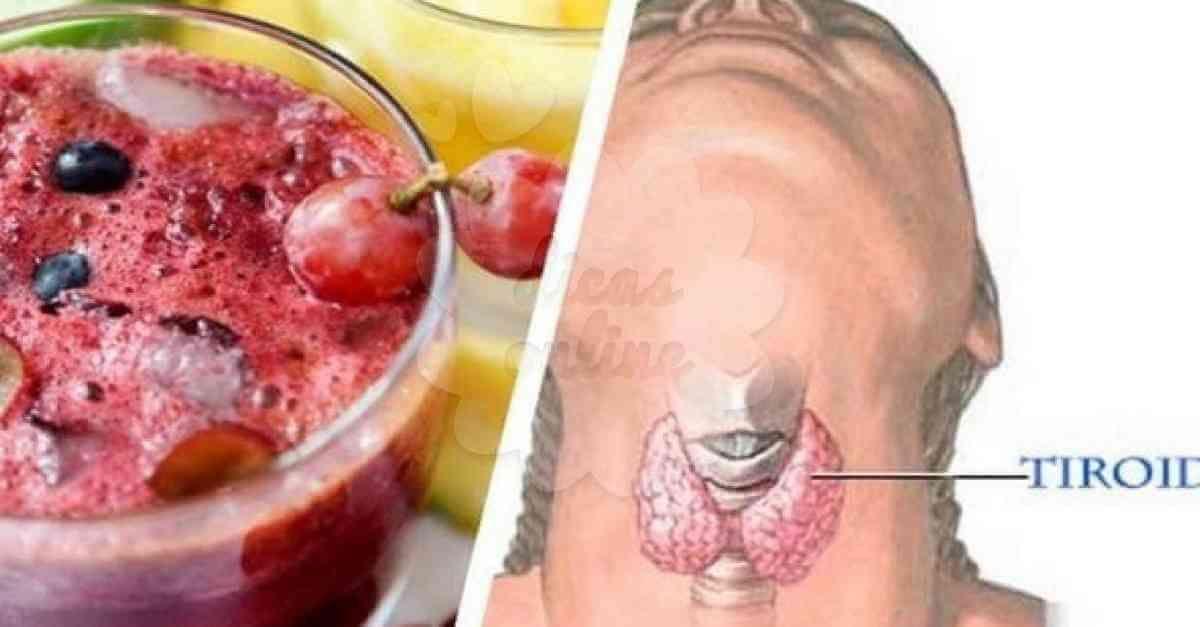Beba Este Suco Para Regular A Tireoide Perder Peso E Combater