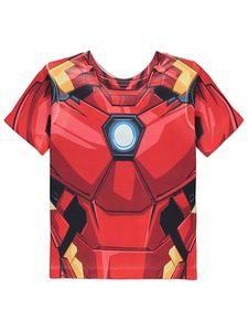 927c03d08 Kids Marvel Avengers Clothing: Iron Man Reversible T Shirt –  Novelty-Characters