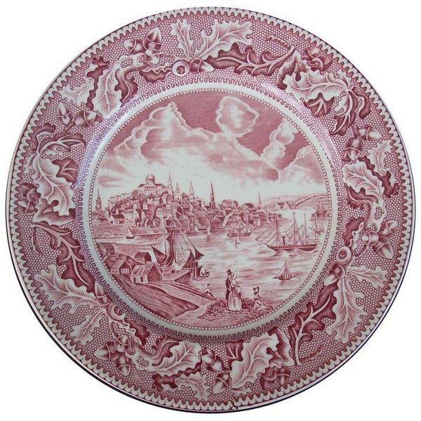 Historic Americana Plate (£27) ? liked on Polyvore featuring home  sc 1 st  Pinterest & Johnson Bros. Historic Americana Plate (£27) ? liked on Polyvore ...