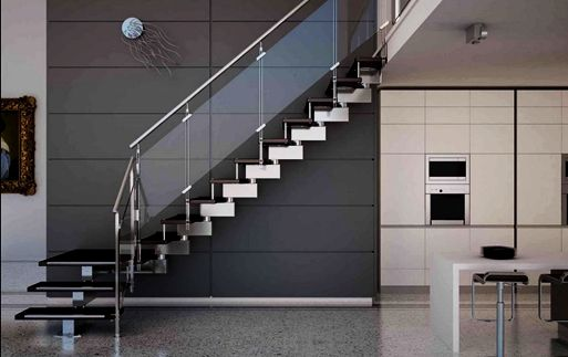 Best Desain Railing Tangga Stainless Steel Dan Kaca Minimalis 640 x 480