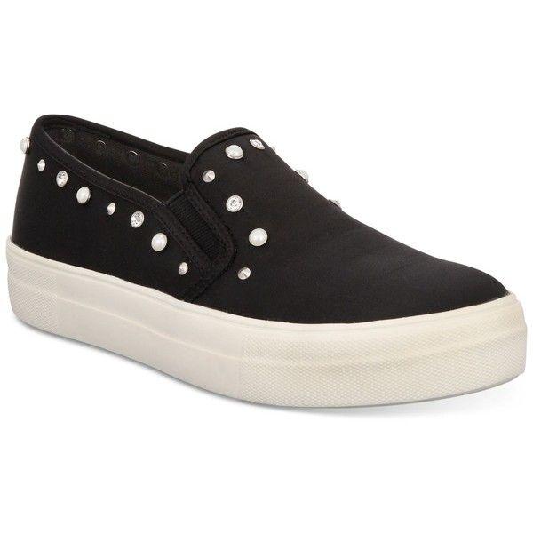 2dfafd77c5136 Material Girl Grace Satin Slip-On Sneakers