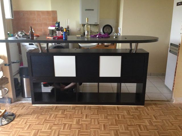 table de bar avec kallax tables de d coupe d tournement. Black Bedroom Furniture Sets. Home Design Ideas