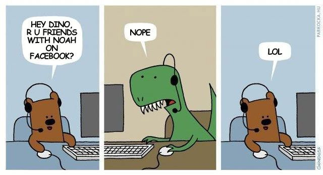 How the Dinosaurs Died.    I'm still in the process of over-analyzing why I like this so much...