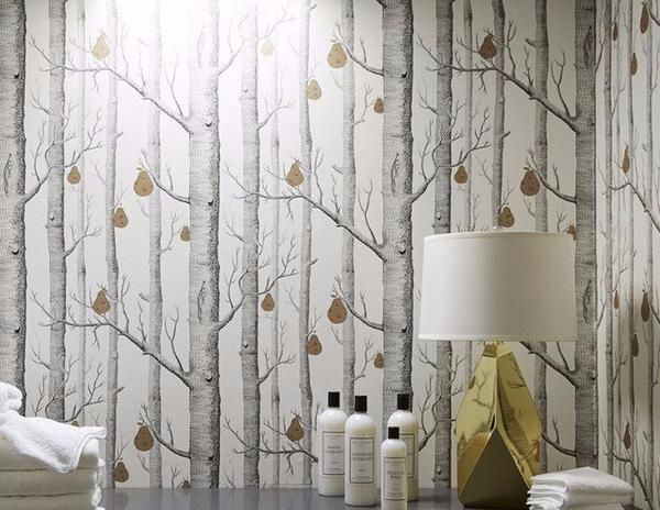 Cole And Son Woods And Pears Wallpaper For Sale Imported Designer