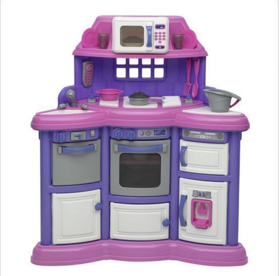 Toys R Us Kitchen: Kids Play Kitchen Homestyle Plastic Toys Set Pretend Oven
