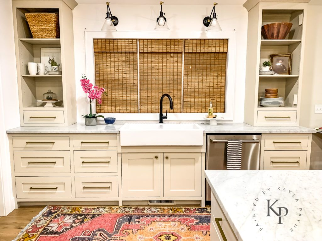 Revere Pewter Kitchen Cabinets Painted By Kayla Payne Revere Pewter Kitchen Kitchen Cabinets Painting Kitchen Cabinets