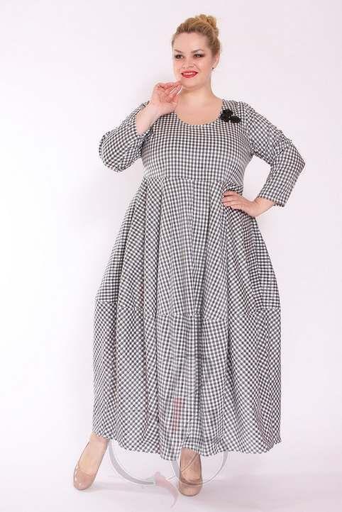 Платья для полных женщин в стиле Бохо-шик турецкого бренда ...