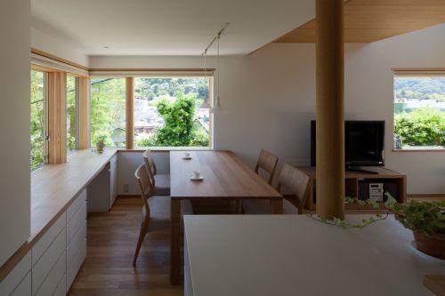 実は大切な窓の腰高 自宅で リビング 窓 リビング キッチン