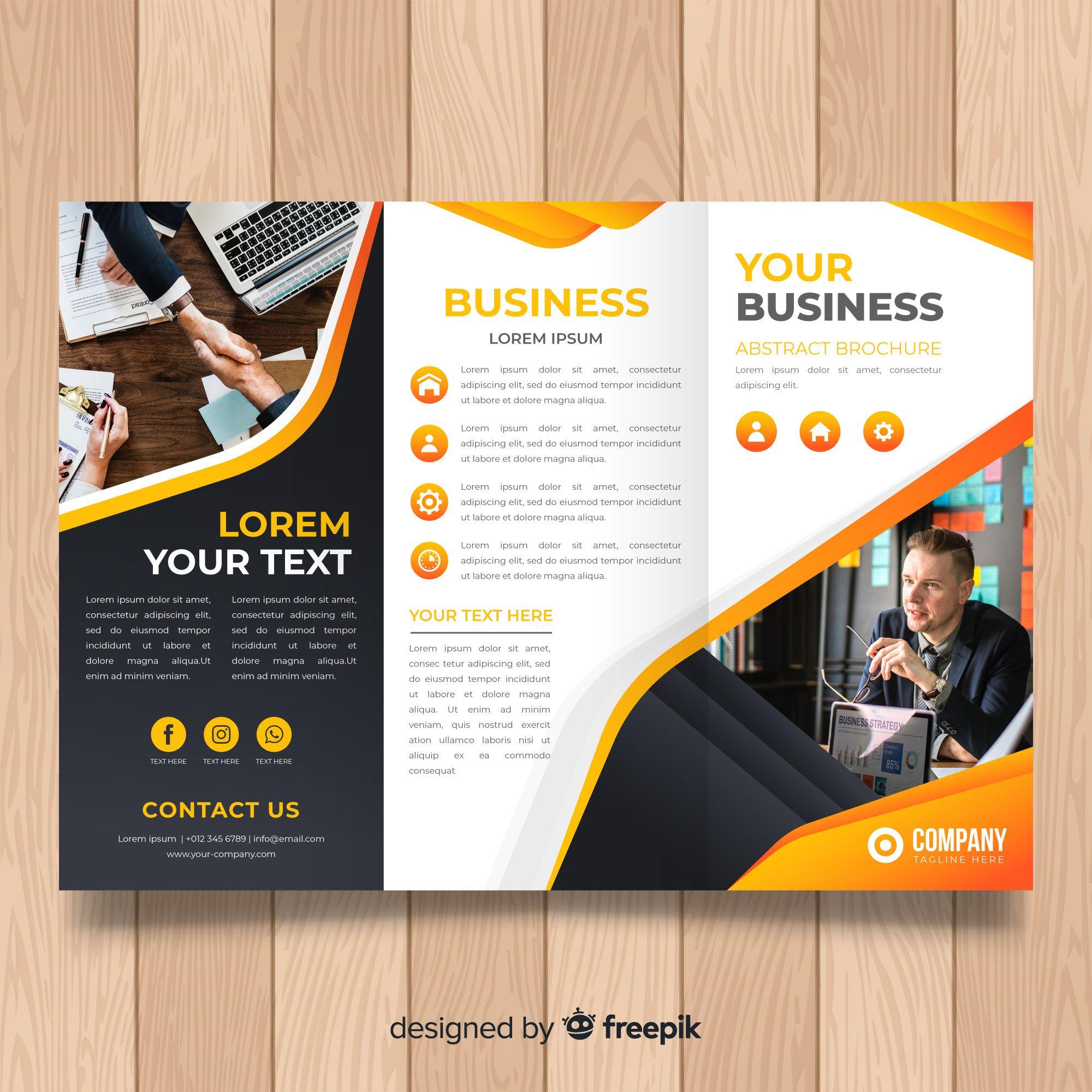 Business Trifold Brochure Brochure Trifold Brochure Brochure Design Template