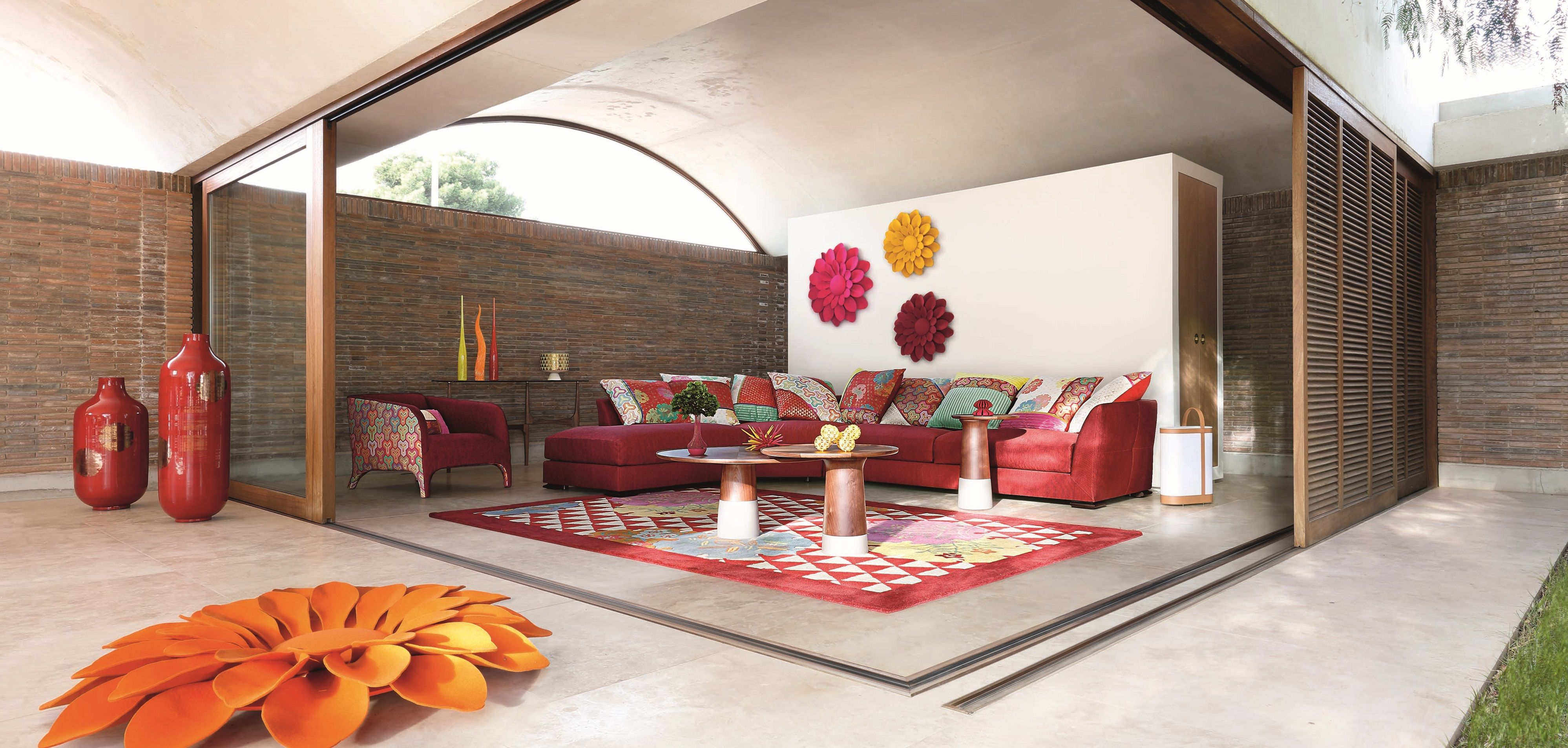 Roche Bobois Khanami Sofa Designed By Philippe Bouix