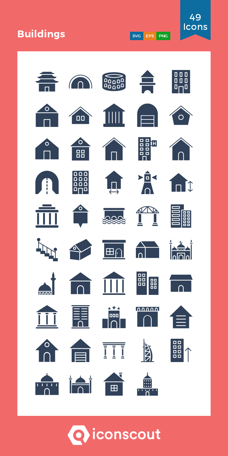 Download Buildings Icon Pack Available In Svg Png Icon Fonts Building Icon Icon Pack Icon