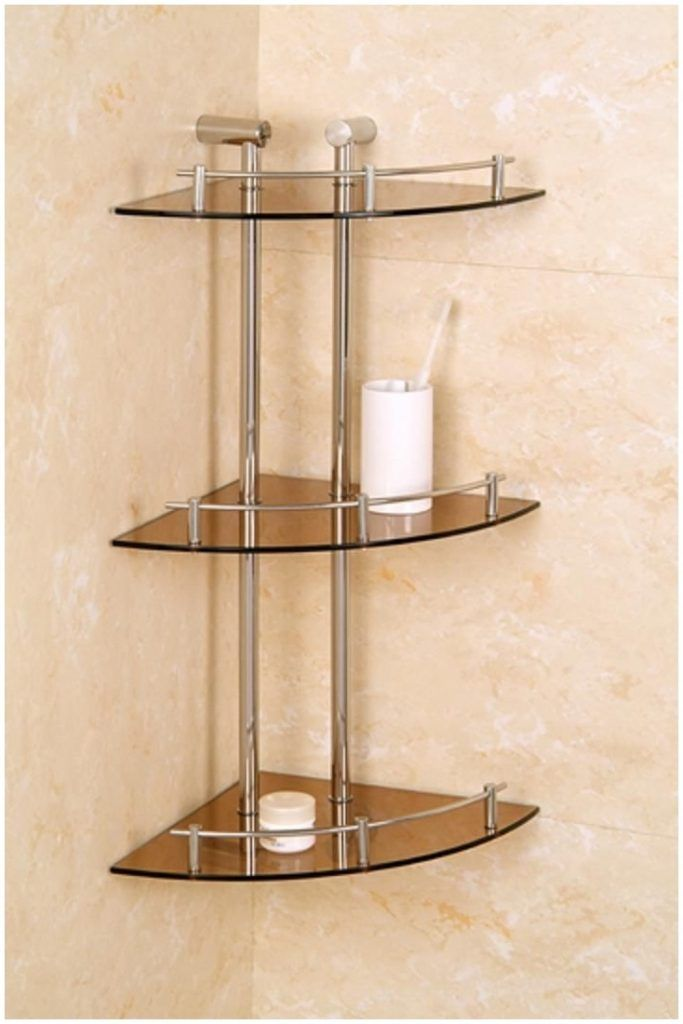 Bathroom Corner Shelf Furniture Design Bathroom Corner Shelf Unit ...