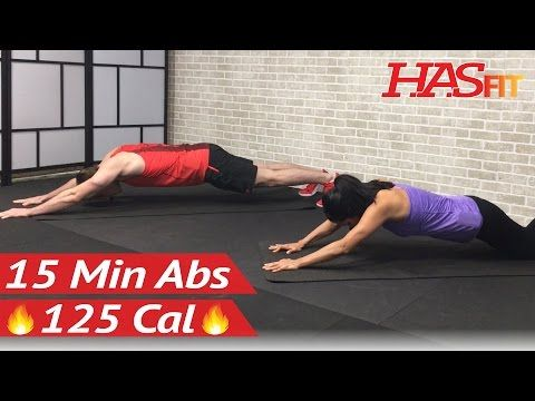 15 Minute Intense Ab Workout - HASfit - Free Full Length Workout Videos and Fitness Programs