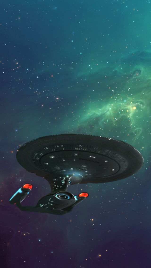 Maybe use some paint with pencil. Star Trek: The Next Generation ...