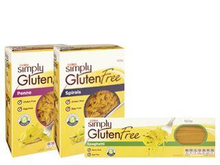 Coles Simply Gluten Free Pasta Range Low Gi Foods Simply Gluten Free Gluten Free Pasta
