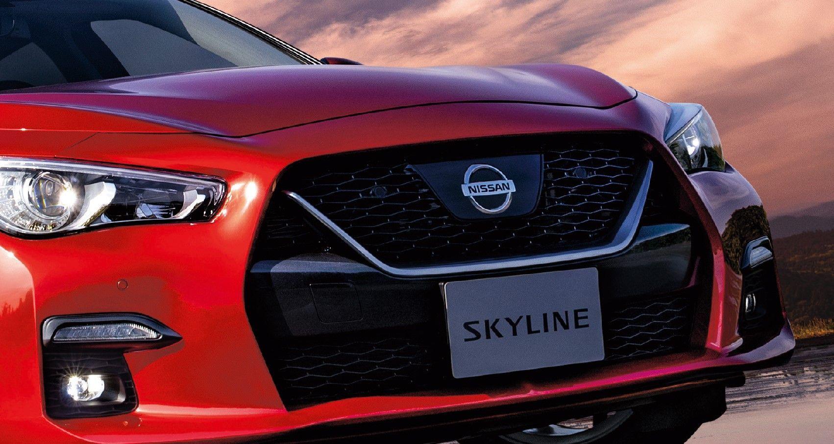 2020 Nissan Skyline [V37]. Infiniti Q50 design, with