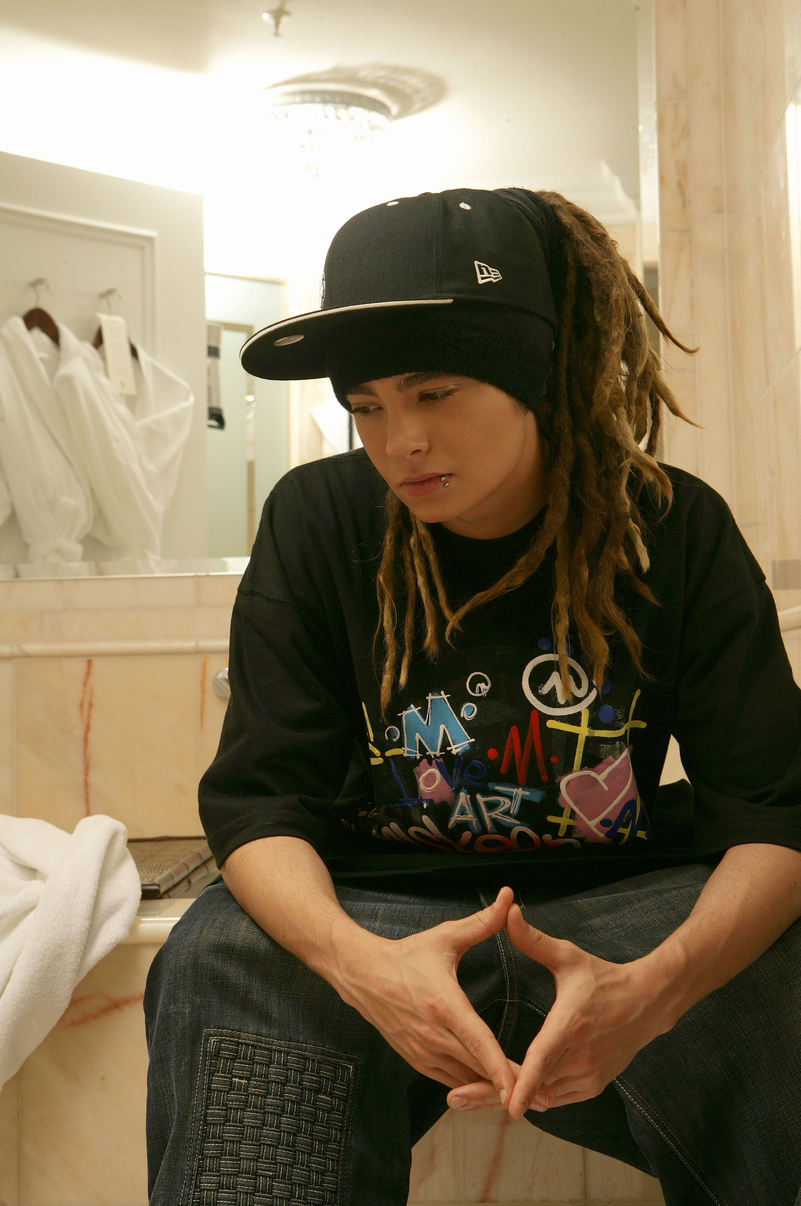 Tom Kaulitz Of Tokio Hotel In Miskeen Tees