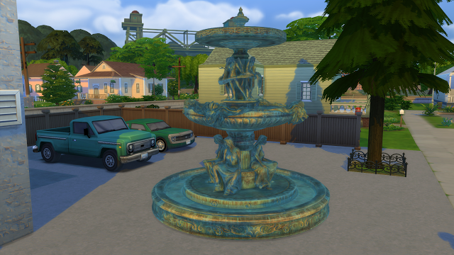 Sims 4 CC's - The Best: Fallout 4 Fountain by Ozyman4 | Sims