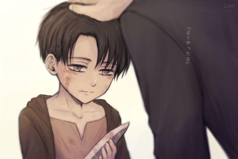 Attack On Titan Shingeki No Kyojin Levi Ackerman Cute Kid
