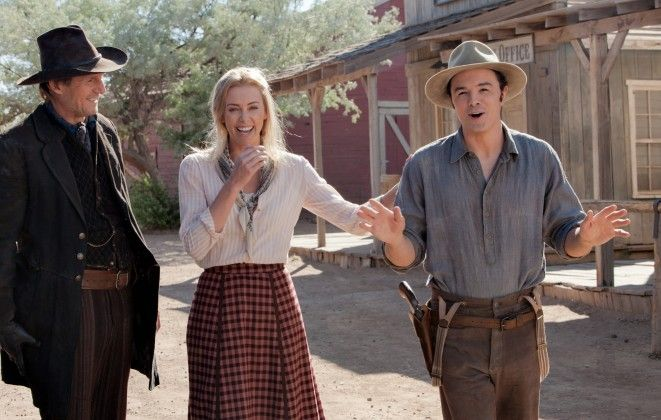 A Million Ways To Die In The West Set Pictures