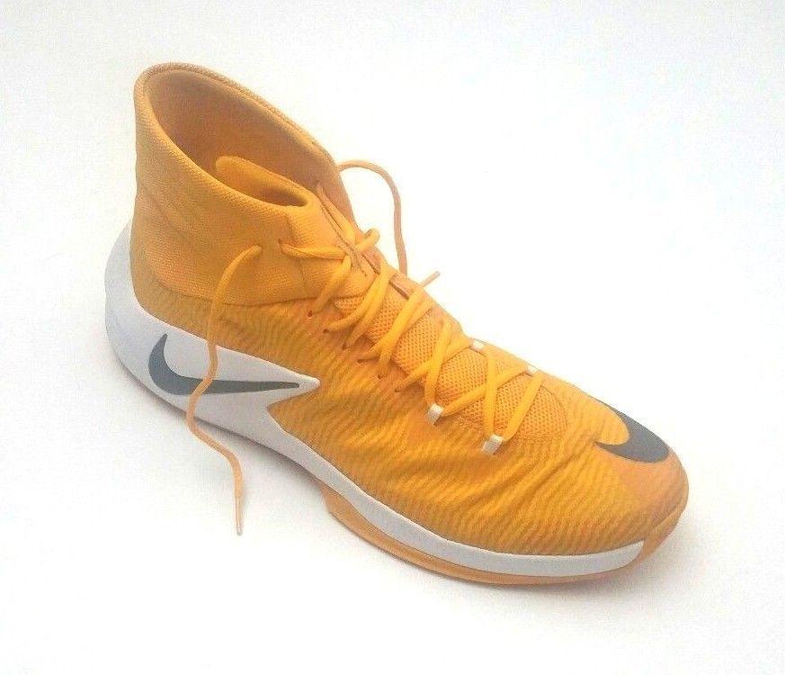 acd7c5e96027 Nike Men s 856486-771 Zoom Clear Out TB Basketball Shoes Yellow White Size  17.5  Nike  BasketballShoes