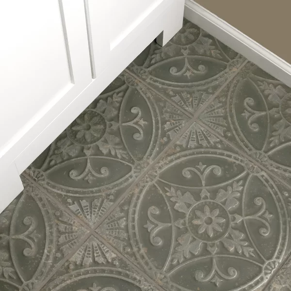 Castile 13 X 13 Ceramic Patterened Wall Floor Tile In 2020 Ceramic Floor Tile Floor Flooring