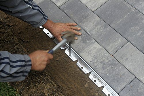 Easyflex 1856 48C Commercial Grade Aluminum Paver Edging 400 x 300