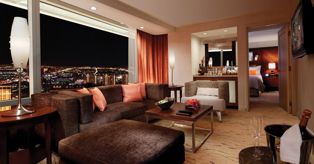 Aria Corner Suite Unbeatable Price  Http16Vegashotels Gorgeous 3 Bedroom Suite Vegas Inspiration Design