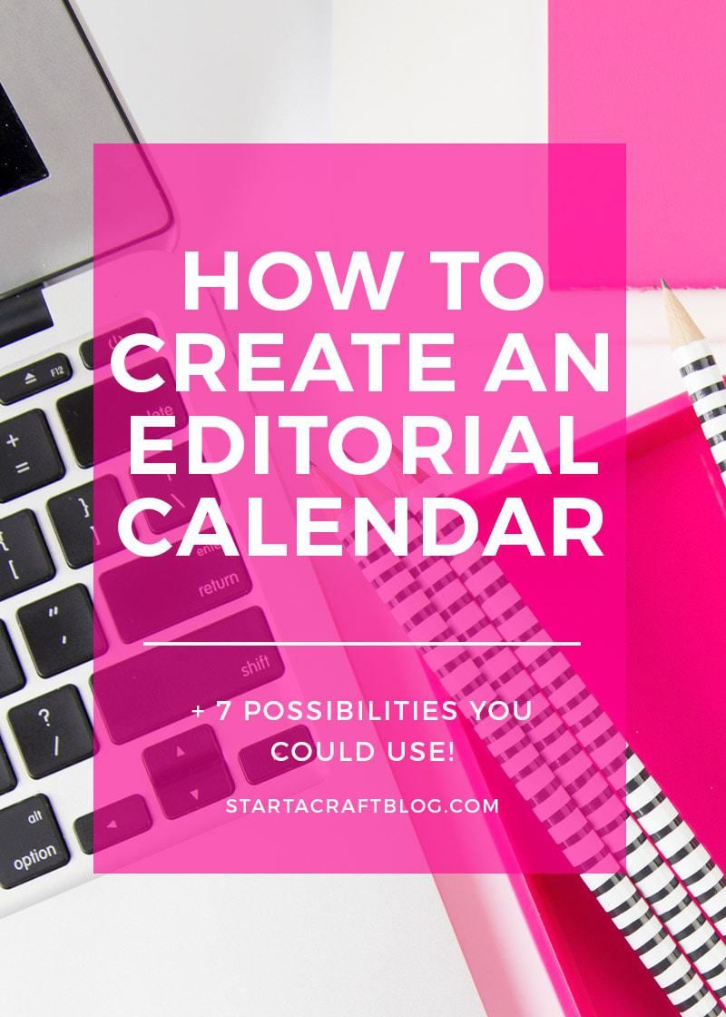 How To Create A Content Calendar  Template Content And Create