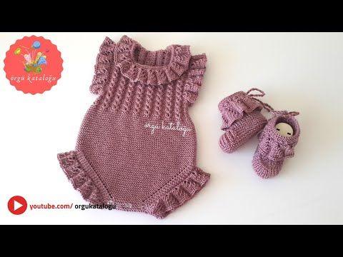 #119 ÖRGÜ BEBEK TULUMU - Bebek Örgüleri - Örgü Modelleri - Knitting Pattern - YouTube